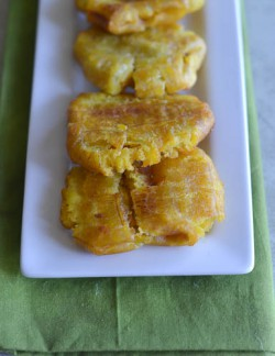 Tostones and Pineapple Guacamole