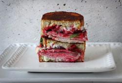 Turkey Cranberry Boursin Grilled Cheese Recipe