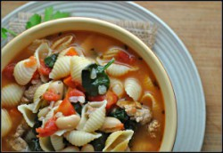 Tuscan Sausage Soup Recipe