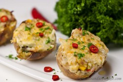 Twice- Baked Stuffed Potatoes