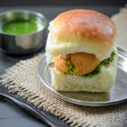 Vada Pav Indian Potato Patty Slider Recipe