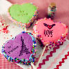 Valentine Cookie Cakes