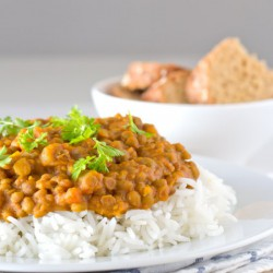 Vegan Lentil Curry Gluten-free