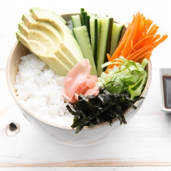Vegan Sushi Bowl Recipe