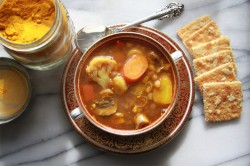 Vegetable Lentil Curry Soup Recipe