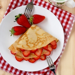 Wholemeal crepes