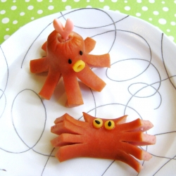 Wiener Crab and Octopus