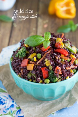 Wild Rice and Veggie Dish