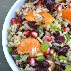 Wild Rice Fruit Salad Recipe