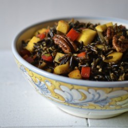 Wild Rice Salad with Mango