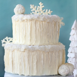 Winter Wonderland Snow Cake Recipe
