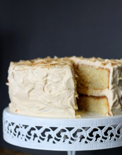 Yellow Cake w/ Caramel Buttercream