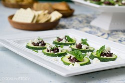 Zucchini and Feta Appetizer