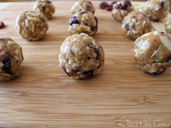 Almond Cranberry Granola Poppers Recipe