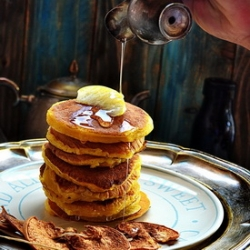 Apple Pumpkin Pancakes Recipe