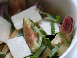 Artichokes Figs Parmesan Salad Recipe