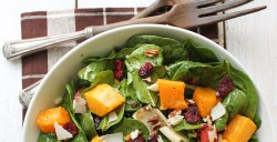 Autumn Butternut Squash Salad with Balsamic Vinaigrette Recipe
