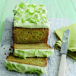 Avocado Lime Loaf Cake Recipe