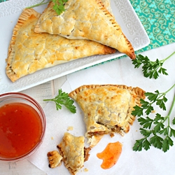 Baked Chicken Samosas