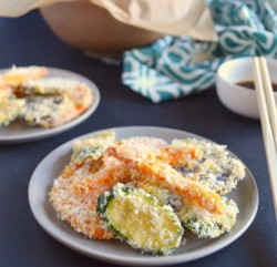 Baked Vegetable Coconut Tempura