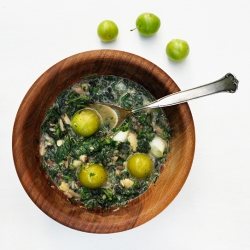 Bean and Nettle Soup