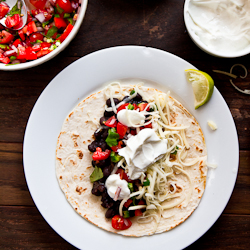 Black and White Tacos Recipe