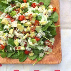 BLT Spinach Salad
