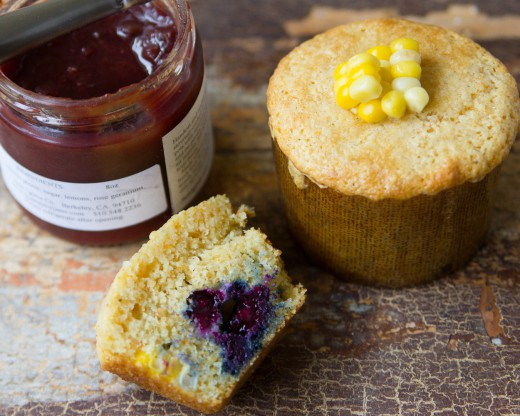 Blueberry Corn Muffins Recipe recipes - Social Cooking Engine