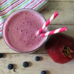 Blueberry Pomegranate Smoothie Recipe
