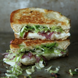 Brussels Sprouts Grilled Cheese Sandwich Recipe