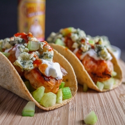 Buffalo Shrimp Tacos Recipe