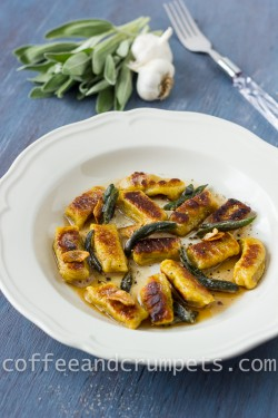 Butternut Squash with Brown Butter and Sage Leaves Recipe
