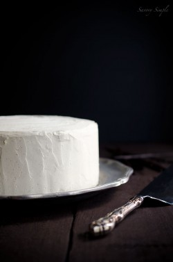 Cardamom Vanilla Bean Layer Cake Recipe
