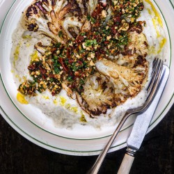 Cauliflower Steak with Gremolata