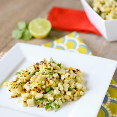 Charred Mexican Corn Salad Recipe