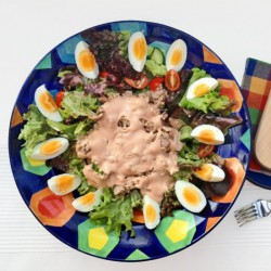 Chef's Salad with Tuna