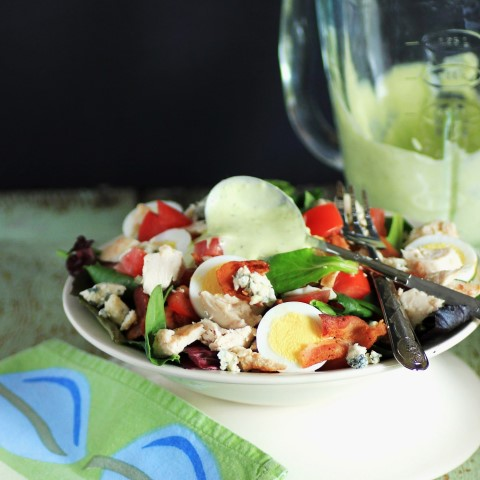 Chicken BLT Cobb Salad Recipe. {recipe}