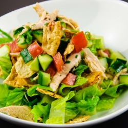 Chicken Fattoush Salad Recipe