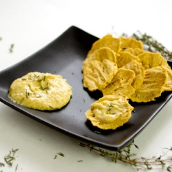 Chickpea Cracker Chips