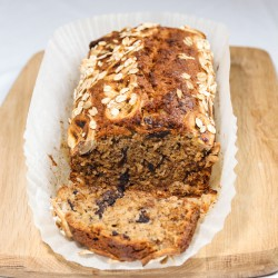 Chocolate Oat Banana Bread