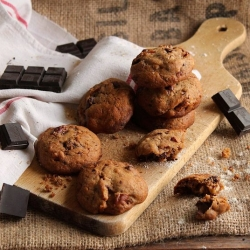 Chocolate Pecan Cookies Recipe