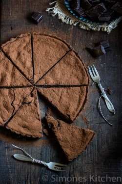Chocolate Tart with Cacao Powder Recipe
