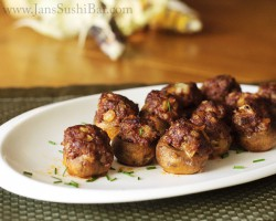 Chorizo-Stuffed Mushrooms