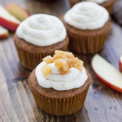 Cinnamon Spice Cupcakes with Whiskey Buttercream Recipe