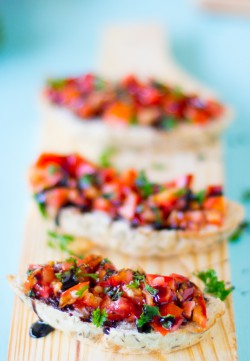 Classic Bruschetta with Balsamic