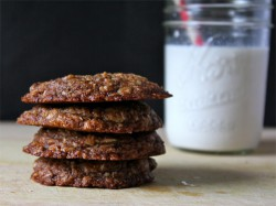 Coconut Espresso Oatmeal Cookies Recipe