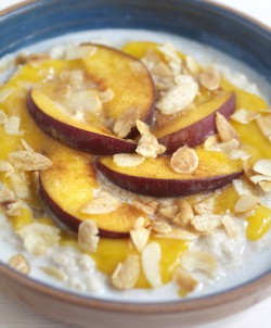 Coconut Milk and Mango Porridge