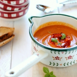 Cold Soup of Tomatoes and Peppers