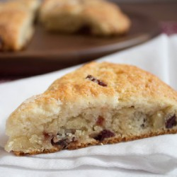 Cranberry Yogurt Scones