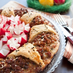 Delicious Minced Meat Appetizer
